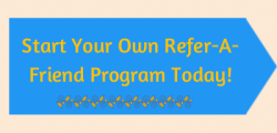 refer a friend, referral marketing